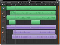 GarageBand Recording Studio iPad