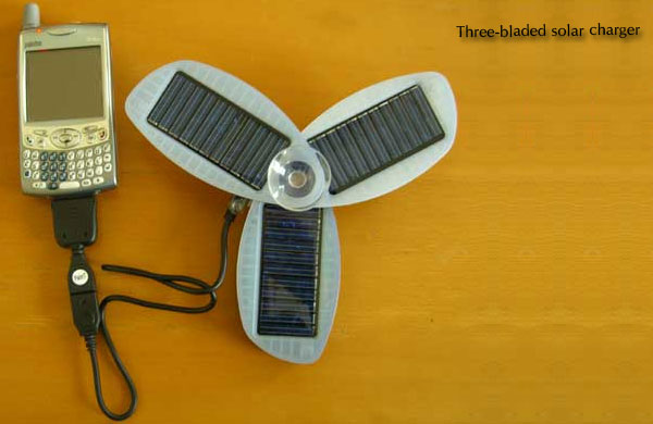 Three-bladed-solar-charger