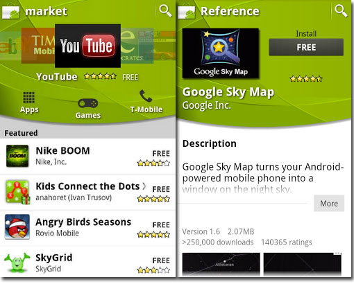 Market App Refurbishes Androids