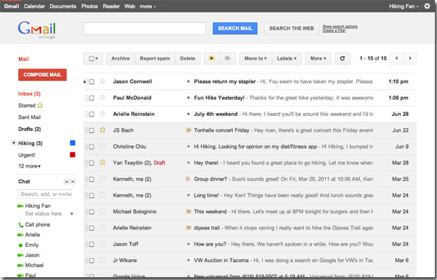 GMail Will Get A New User Interface As Google Remodels