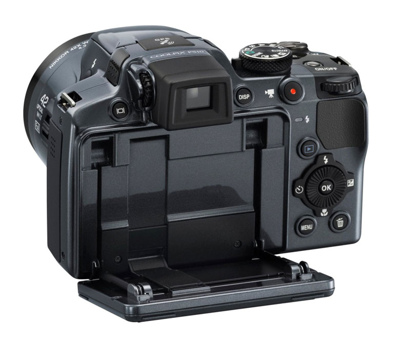 Nikon Coolpix P510 rear view
