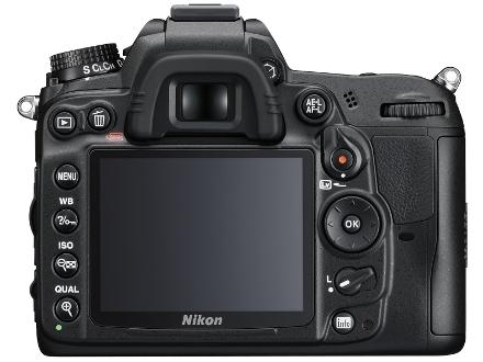Nikon D7000 back