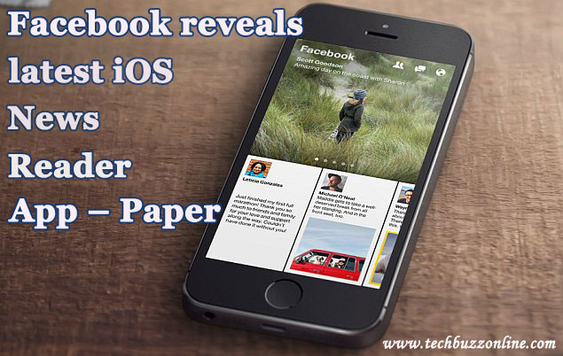 Facebook reveals latest iOS News Reader App