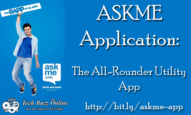 ASKME Application: The All-Rounder Utility App