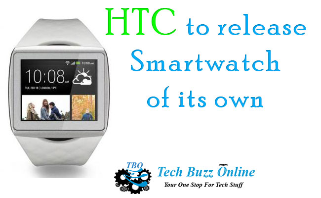 HTC to release Smartwatch of its own