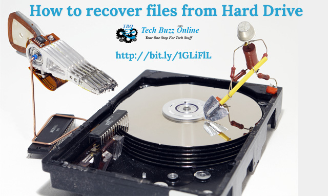 How to recover files from Hard Drive in case of Hard Drive failure