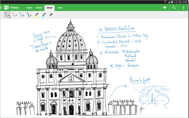 Microsoft updates OneNote for Android and Windows