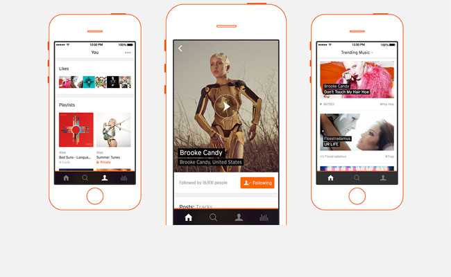 SoundCloud iPhone app gets a facelift: Listening to music becomes the focus