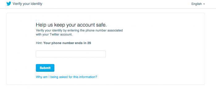 Twitter adds password reset