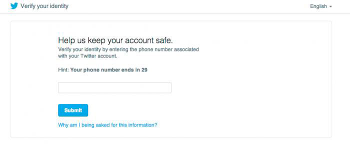 Twitter adds password reset