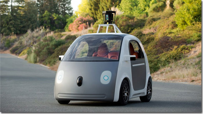 Futuristic Self-Driving Car now a reality thanks to Google