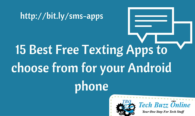 15 Best Free Texting Apps to choose from for your Android phone
