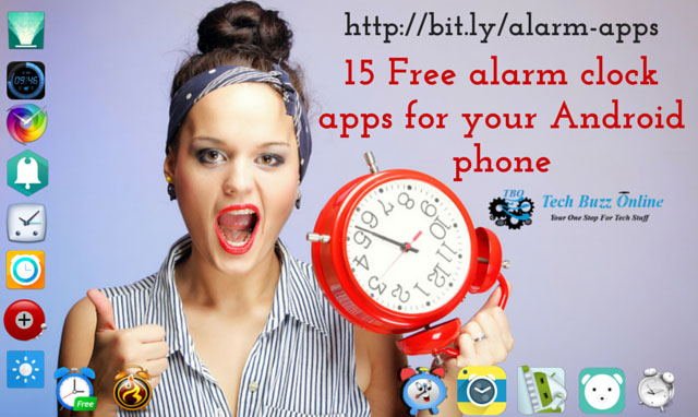 15 Free alarm clock apps for your Android phone