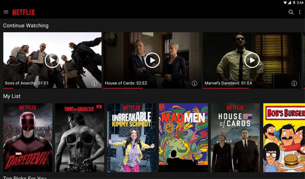 top android apps for free movies