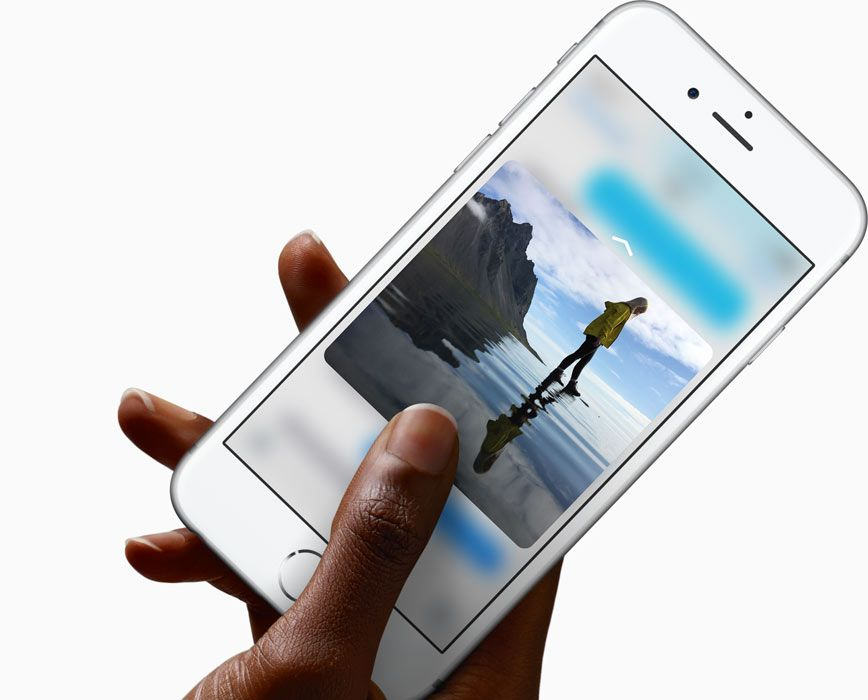 iphone touch screen