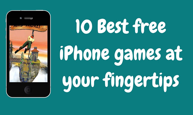 10 Best free iPhone games at your fingertips