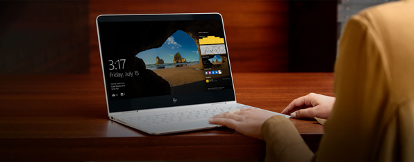 HP Spectre-Fine Keyboard and Track-pad