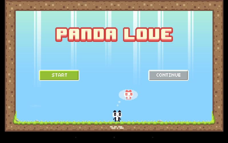 panda love html5