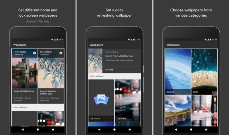 wallpaper app by google