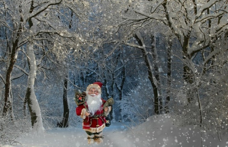 Creative Christmas Santa Claus