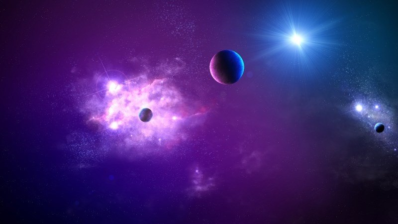 Space Planet Light Galaxy