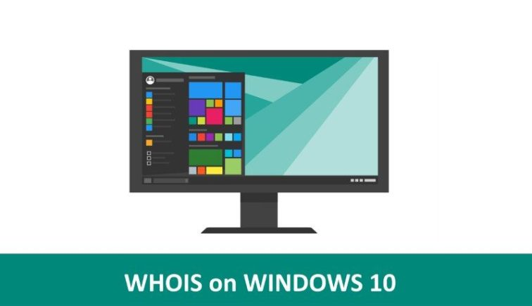 whois command windows 10