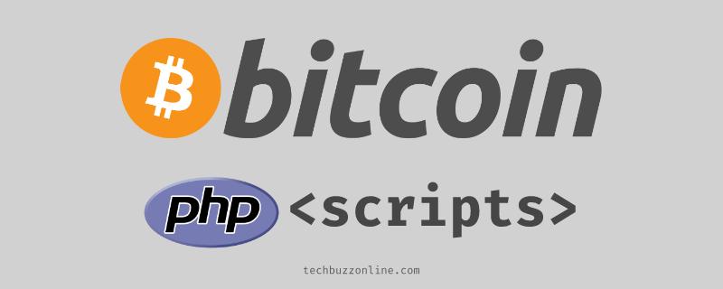 bitcoin php scripts