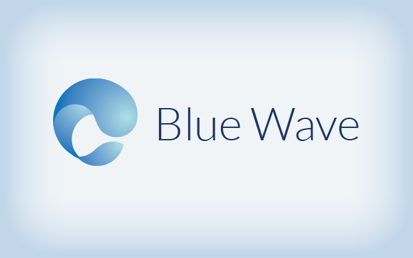 blue wave tech logo