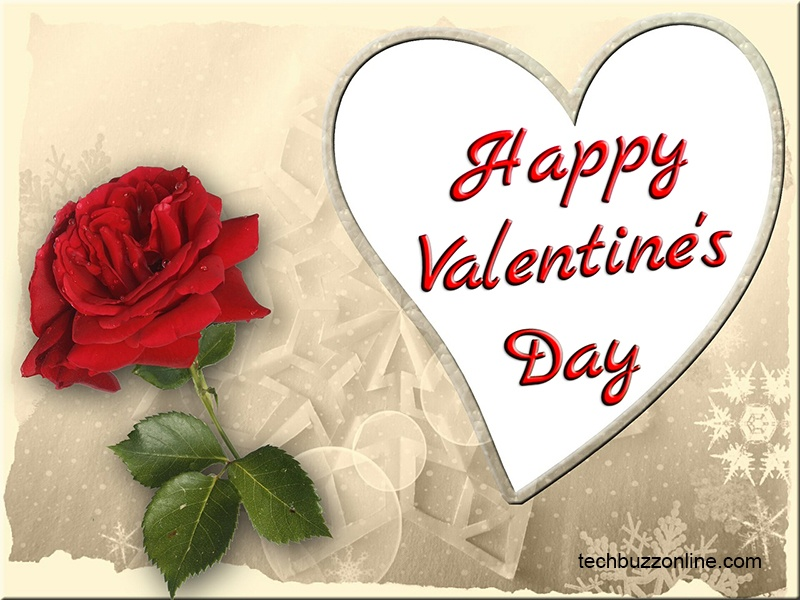 Happy Valentine's Day Greeting Card - 4