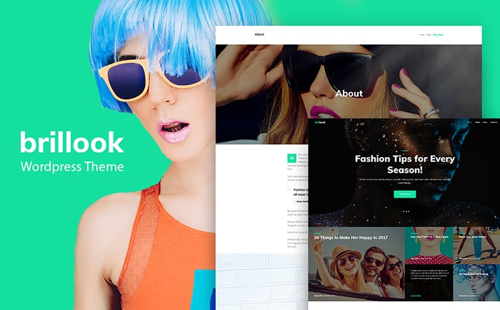 Stylist Fashion Blog WordPress Theme