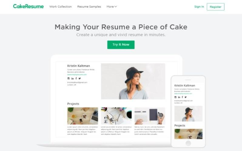 12 cake resume maker