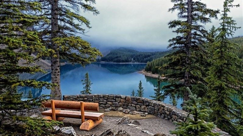 Nature Landscape Lake Wallpaper