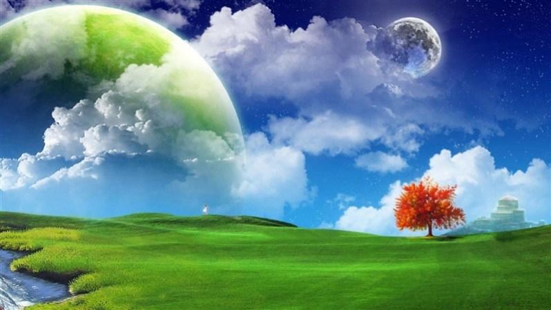 Artistic Nature Wallpaper