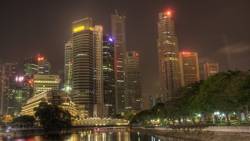 Night City HD Wallpaper