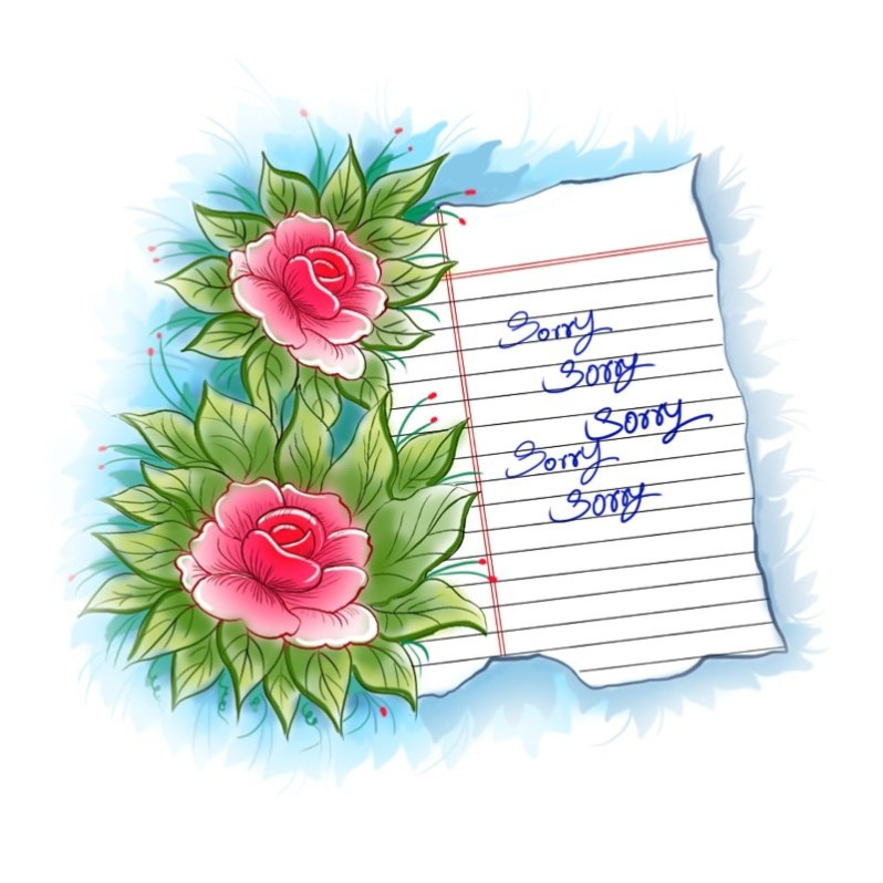 25 sorry greeting cards and images tech buzz online flower design sorry greeting card m4hsunfo