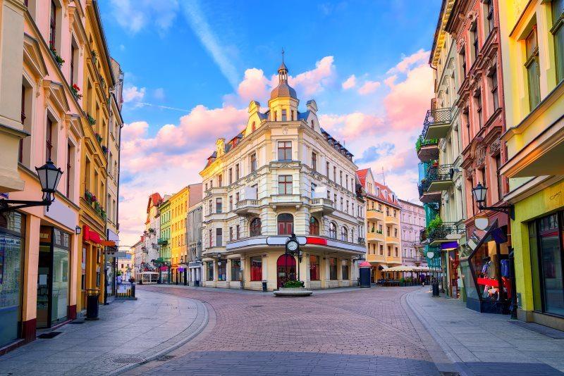 Poland City Building Architecture