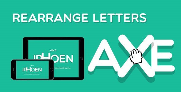Rearrange Letters HTML5 Game