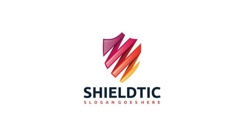 Colorful Shield Logo