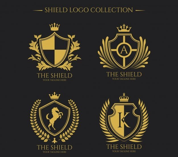 Logos of Golden Shields Collection