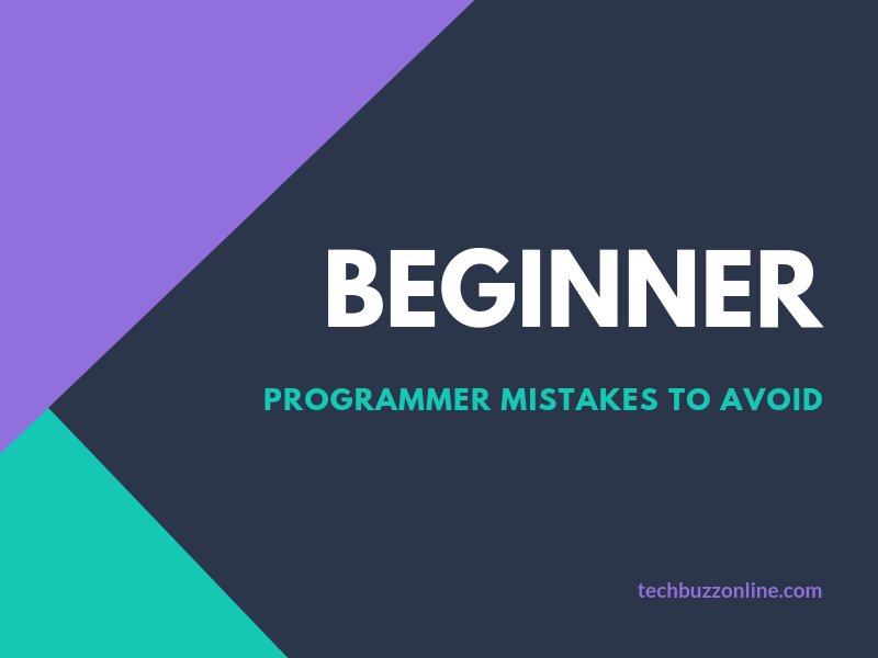 8 Beginner Programmer Mistakes to Avoid [Infographic]