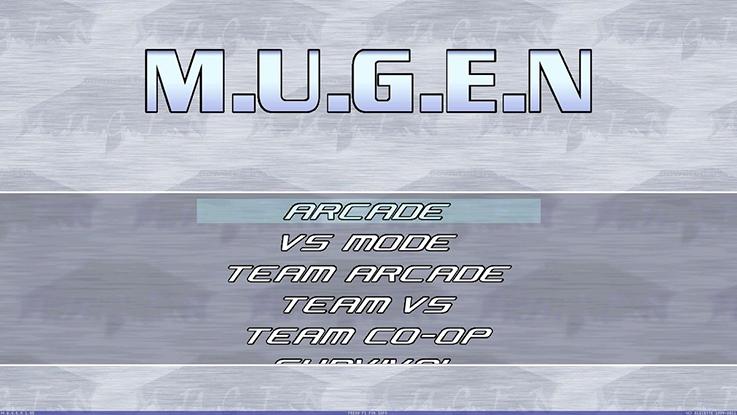 Menù del M.U.G.E.N.