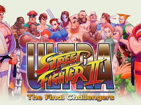 Logo di Ultra Street Fighter II