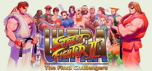 Logo di Ultra Street Fighter II
