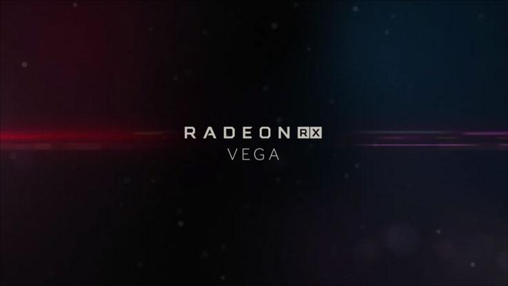 Logo di AMD RX Vega
