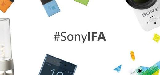 IFA 2017: le novità di Sony
