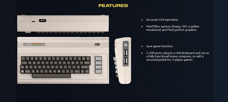 C64 Mini: il ritorno del PC più venduto negli anni '80 2