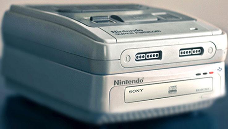 Console Sony: prototipo del SNES CD-ROM