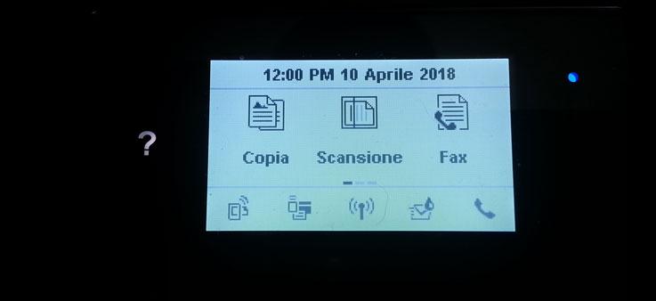 HP OfficeJet 4657 Display