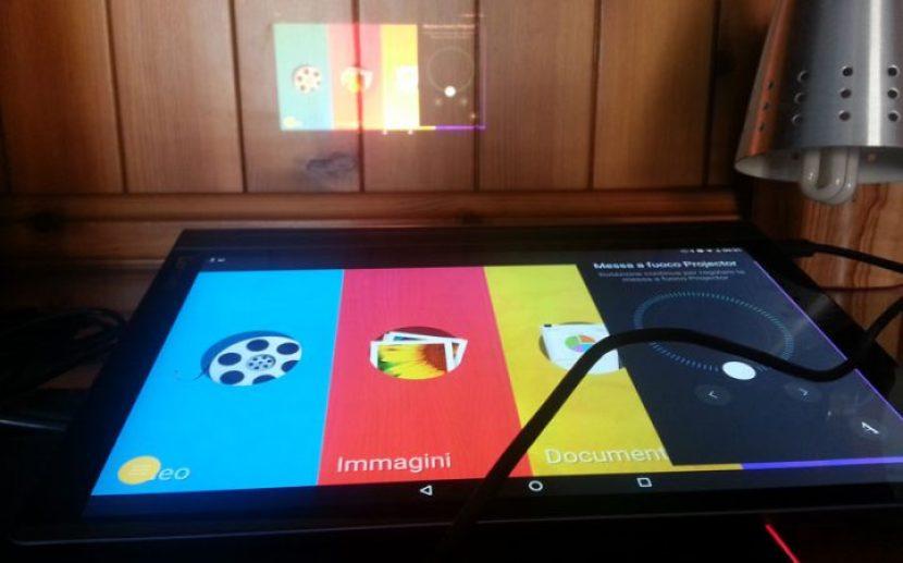 Proiettore di Lenovo Yoga Tab 3 Pro