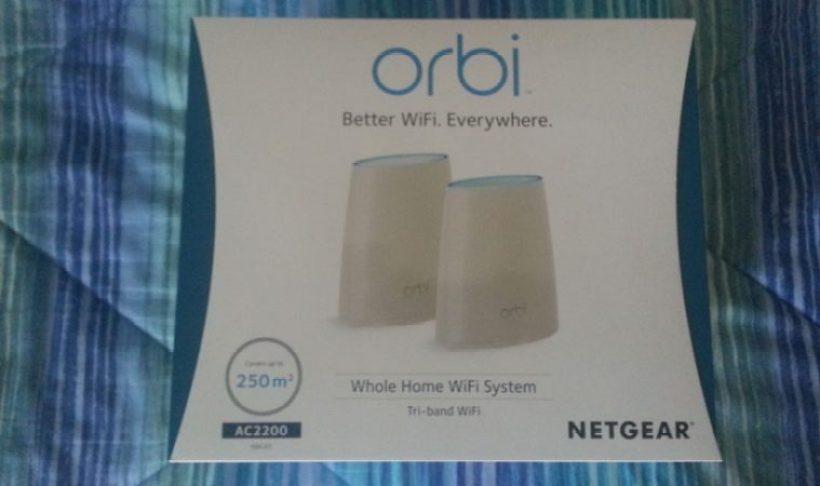 Confezione di Netgear Orbi